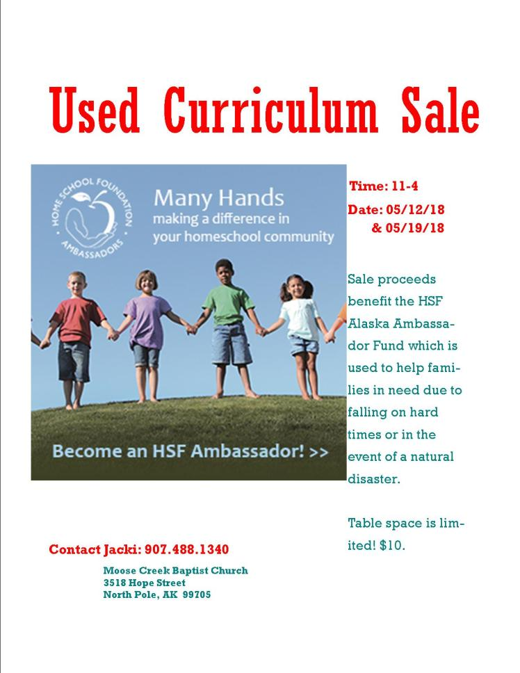 Used Curriculum Sale